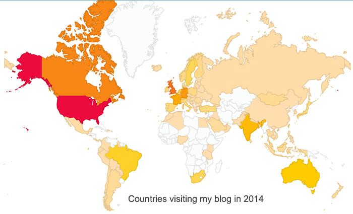 Blog Hits 2014